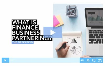 What is finance business partnering?